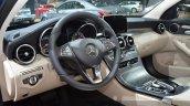 Mercedes C200 L 4Matic Sport driver side at 2015 Shanghai Auto Show