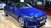 Mercedes C200 L 4Matic Sport front three quarters at 2015 Shanghai Auto Show