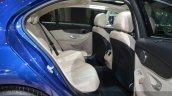 Mercedes C200 L 4Matic Sport rear seats at 2015 Shanghai Auto Show
