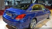 Mercedes C200 L 4Matic Sport rear three quarters at 2015 Shanghai Auto Show