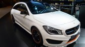 Mercedes CLA Shooting Brake front three quarters 1 at 2015 Frankfurt Motor Show