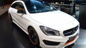 Mercedes CLA Shooting Brake front three quarters at 2015 Frankfurt Motor Show