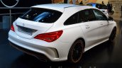 Mercedes CLA Shooting Brake rear three quarters at 2015 Frankfurt Motor Show