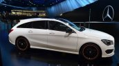 Mercedes CLA Shooting Brake side at 2015 Frankfurt Motor Show