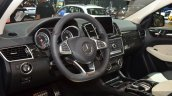 Mercedes GLE 450 AMG Coupe driver cabin at 2015 Shanghai Auto Show.JPG