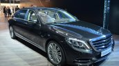 Mercedes Maybach S600 front three quarters at 2015 Frankfurt Motor Show