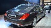 Mercedes Maybach S600 rear three quarters 1 at 2015 Frankfurt Motor Show