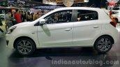 Mitsubishi Mirage facelift side at 2015 Thailand Motor Expo
