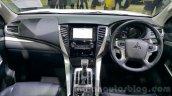 Mitsubishi Pajero Sport dashboard at 2015 Thai Motor Expo