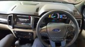 New Ford Endeavour 3.2L Titanium interior snapped