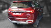 New Ford Endeavour 3.2L Titanium rear snapped