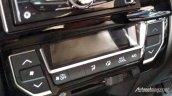 Production-spec Honda BR-V HVAC system snapped