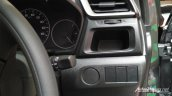 Production-spec Honda BR-V cubby hole snapped