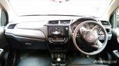 Production-spec Honda BR-V dashboard snapped