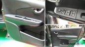 Production-spec Honda BR-V door panel snapped