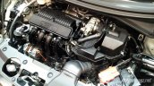 Production-spec Honda BR-V engine bay snapped