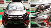 Production-spec Honda BR-V front features snapped