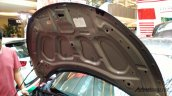 Production-spec Honda BR-V hood snapped