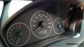 Production-spec Honda BR-V instrument panle snapped
