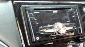 Production-spec Honda BR-V music system snapped