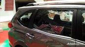 Production-spec Honda BR-V rear window snapped