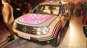 Renault Duster Manish Arora design front quarter unveiled