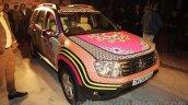 Renault Duster Manish Arora design front three quarter unveiled