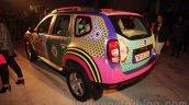 Renault Duster Manish Arora design rear quarter unveiled