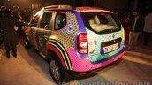 Renault Duster Manish Arora design rear three quarter unveiled