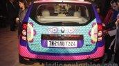 Renault Duster Manish Arora design rear unveiled