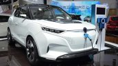 Ssangyong Tivolan EVR Concept front three quarters at 2015 Shanghai Auto Show