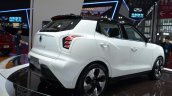 Ssangyong Tivolan EVR Concept rear three quarters at 2015 Shanghai Auto Show