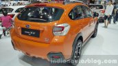 Subaru XV rear three quarter left at the 2015 Thailand Motor Expo