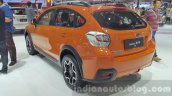 Subaru XV rear three quarter right at the 2015 Thailand Motor Expo