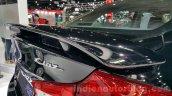 Suzuki Ciaz RS spoiler at 2015 Thailand Motor Expo