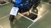 Suzuki Gixxer 250 front quarter spied