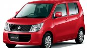 Suzuki Wagon R FX Limited front three quarter launched