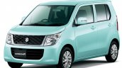 Suzuki Wagon R FX front three quarter green Limited launched