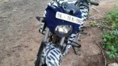 TVS Apache 200 front spied up-close