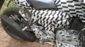 TVS Apache 200 seat spied up-close