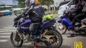 TVS Apache 200 side spied up-close in Indonesia