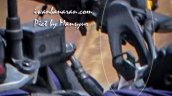 TVS Apache 200 split handlebar spied up-close in Indonesia