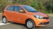 Tata Zica Revotorq diesel front three quarters Review