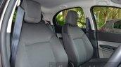 Tata Zica front seats Revotorq diesel Review