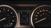 Tata Zica instrument cluster teased