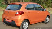 Tata Zica rear three quarter Revotorq diesel Review