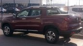 Top-end Fiat Toro double cab rear three quarter (1) spotted