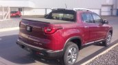 Top-end Fiat Toro double cab rear three quarter spotted
