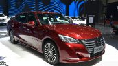 Toyota Crown front three quarters at 2015 Shanghai Auto Show