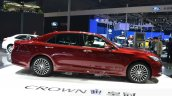 Toyota Crown side at 2015 Shanghai Auto Show